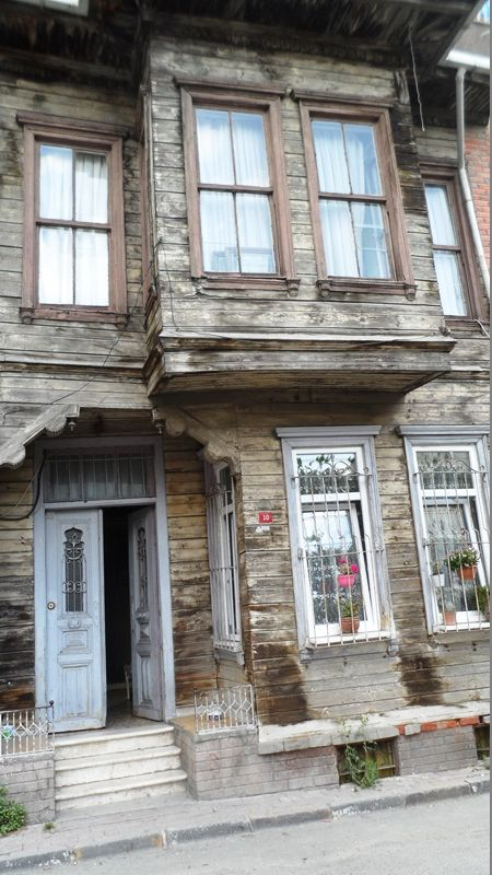 Historical Istanbul house for sale traditional wooden