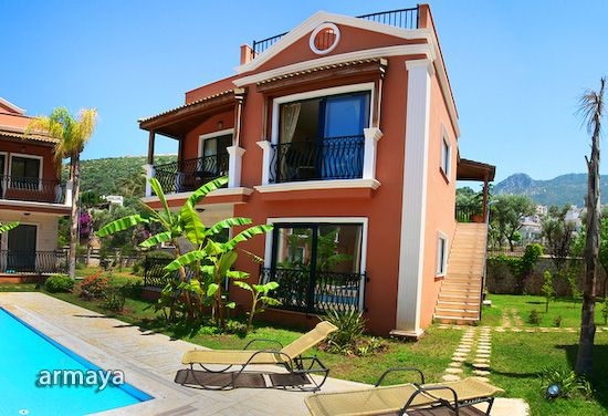 3 Bedroom Apartments in Kalkan ,Antalya for sale