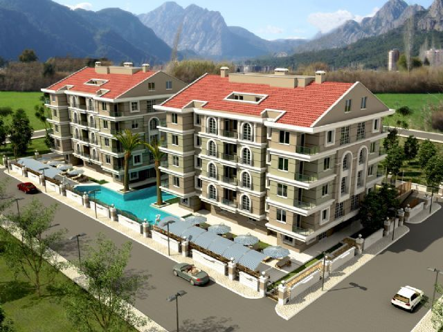 1 Bedroom Apartments in  ,Antalya for sale