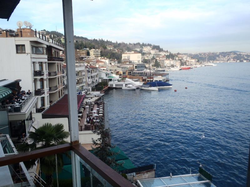 Sea front Istanbul amazing Bebek apartment for sale 3